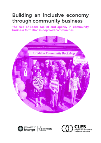 Building an inclusive economy through community business